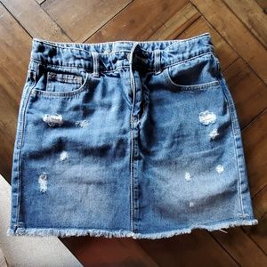 Gap girls denim jean skirt size 12 reg